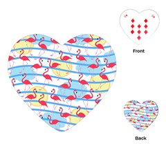Flamingo pattern Playing Cards (Heart)