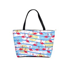 Flamingo pattern Shoulder Handbags