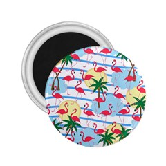Flamingo pattern 2.25  Magnets