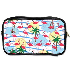 Flamingo pattern Toiletries Bags 2-Side