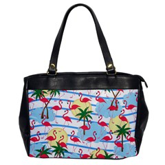 Flamingo pattern Office Handbags