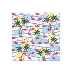 Flamingo pattern Satin Bandana Scarf