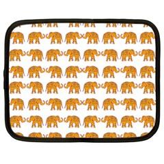 Indian elephant  Netbook Case (Large)