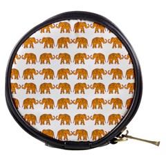 Indian elephant  Mini Makeup Bags
