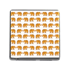 Indian elephant  Memory Card Reader (Square)