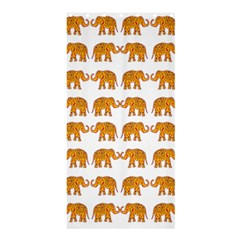 Indian elephant  Shower Curtain 36  x 72  (Stall)