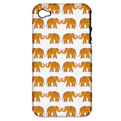 Indian elephant  Apple iPhone 4/4S Hardshell Case (PC+Silicone)