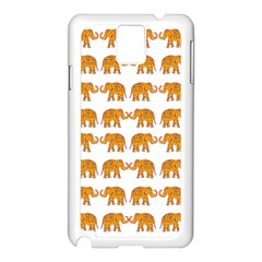 Indian elephant  Samsung Galaxy Note 3 N9005 Case (White)