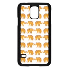 Indian elephant  Samsung Galaxy S5 Case (Black)