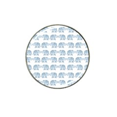Indian elephant  Hat Clip Ball Marker (10 pack)
