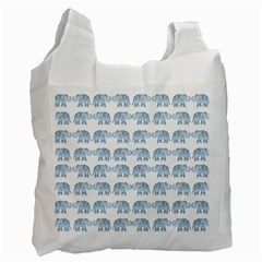 Indian elephant  Recycle Bag (One Side)