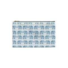 Indian elephant  Cosmetic Bag (Small)
