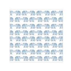 Indian elephant  Small Satin Scarf (Square)