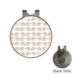 Indian elephant Hat Clips with Golf Markers