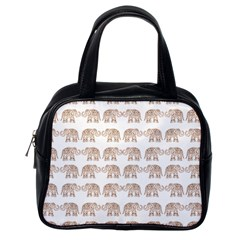 Indian elephant Classic Handbags (One Side)