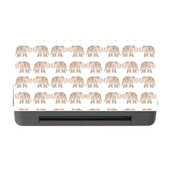 Indian elephant Memory Card Reader with CF