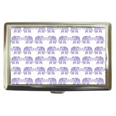 Indian elephant pattern Cigarette Money Cases