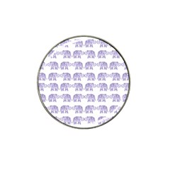 Indian elephant pattern Hat Clip Ball Marker (10 pack)