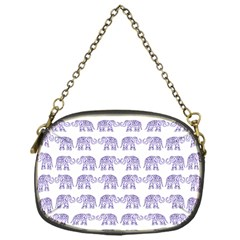 Indian elephant pattern Chain Purses (One Side)
