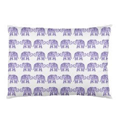 Indian elephant pattern Pillow Case (Two Sides)