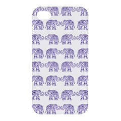 Indian elephant pattern Apple iPhone 4/4S Premium Hardshell Case