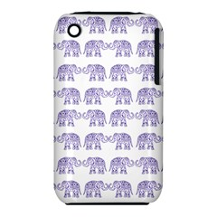 Indian elephant pattern iPhone 3S/3GS