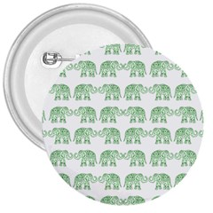 Indian elephant pattern 3  Buttons