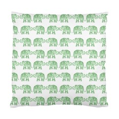 Indian elephant pattern Standard Cushion Case (Two Sides)