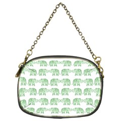 Indian elephant pattern Chain Purses (Two Sides)
