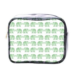 Indian elephant pattern Mini Toiletries Bags