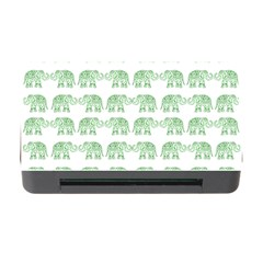 Indian elephant pattern Memory Card Reader with CF