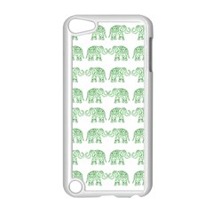 Indian elephant pattern Apple iPod Touch 5 Case (White)