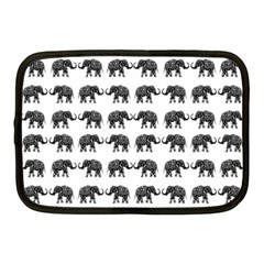 Indian elephant pattern Netbook Case (Medium)
