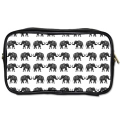 Indian elephant pattern Toiletries Bags 2-Side