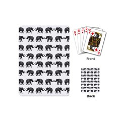 Indian elephant pattern Playing Cards (Mini)