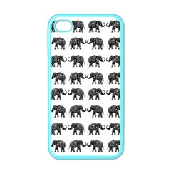 Indian elephant pattern Apple iPhone 4 Case (Color)