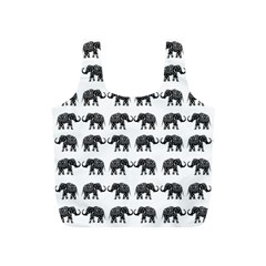 Indian elephant pattern Full Print Recycle Bags (S)