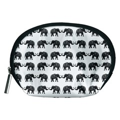 Indian elephant pattern Accessory Pouches (Medium)