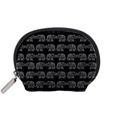 Indian elephant pattern Accessory Pouches (Small)