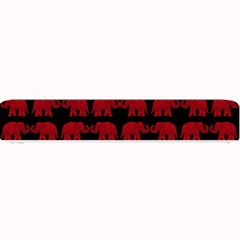 Indian elephant pattern Small Bar Mats