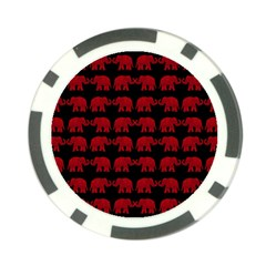 Indian elephant pattern Poker Chip Card Guard