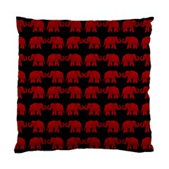 Indian elephant pattern Standard Cushion Case (One Side)