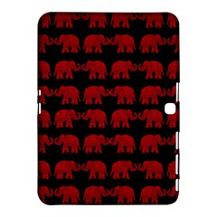 Indian elephant pattern Samsung Galaxy Tab 4 (10.1 ) Hardshell Case