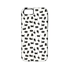 Black Cats Apple iPhone 5 Classic Hardshell Case (PC+Silicone)