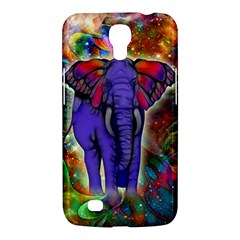Abstract Elephant With Butterfly Ears Colorful Galaxy Samsung Galaxy Mega 6.3  I9200 Hardshell Case