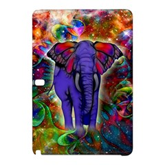 Abstract Elephant With Butterfly Ears Colorful Galaxy Samsung Galaxy Tab Pro 10 1 Hardshell Case