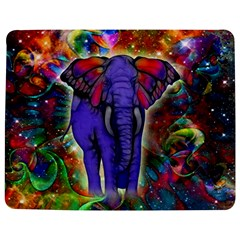 Abstract Elephant With Butterfly Ears Colorful Galaxy Jigsaw Puzzle Photo Stand (rectangular)
