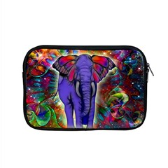 Abstract Elephant With Butterfly Ears Colorful Galaxy Apple Macbook Pro 15  Zipper Case