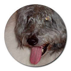 Old English Sheepdog Round Mousepads