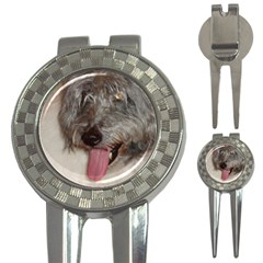 Old English Sheepdog 3-in-1 Golf Divots